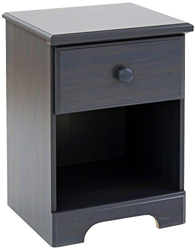 Summer Breeze Collection Nightstand - Blueberry by South Shore (Chargers Wicker Square)