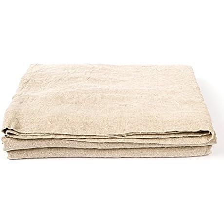 LinenMe Natural Washed Bed Linen Sheet