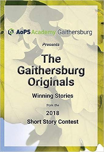 Buy The Gaithersburg Originals: Winning Stories from the