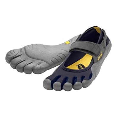 half off d6957 331dd Amazon.com   Vibram Mens FiveFingers Sprint, Black Grey, 46 D   Running