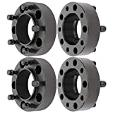 ECCPP 5x150mm hubcentric Wheel Spacers 5 lug 2 inch 5x150 to 5x150 110mm fits for 2008-2016 for Lex-us LX570 2008-2016 for To-yota Sequoia Tundra Land Cruiser with 14x1.5 Studs