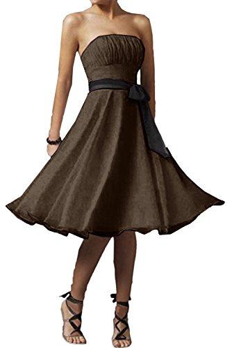 Ivydressing -  Vestito  - linea ad a - Donna cioccolato 40