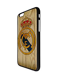 Football Team Logo Design Iphone 6S/Iphone 6 Funda Case for Man, Real Madrid Football Club Logo Iphone 6 6S (4.7 Inch) Funda Case- La Liga Anti-scratch Case Cover