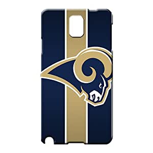 samsung note 3 Shock Absorbing Scratch-free pictures phone cases st. louis rams nfl football