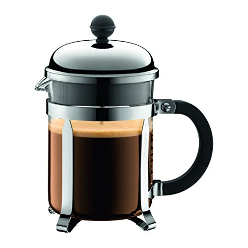 Buy Bodum Chambord 3 cup French Press Coffee Maker, 12 oz, Chrome