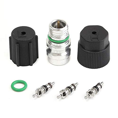Conditioning Valve Core Rapid Seal Kit with Cap Rubber Ring ()
