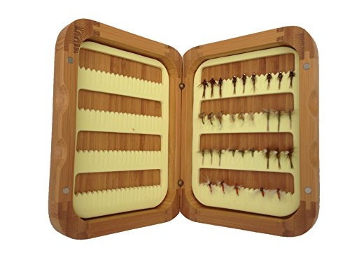 Turrall Bamboo Hatch Match Fishing Fly Selection - 32 Blue Winged Olives (Fly Hatch Fishing)
