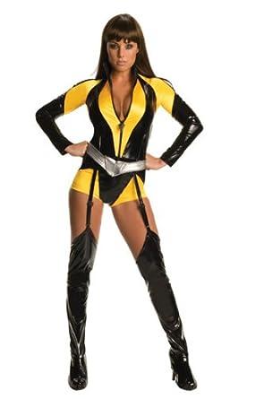 Secret Wishes The Watchman Silk Sceptre Costume Yellow XS (2/4)  sc 1 st  Amazon.com & Amazon.com: Secret Wishes The Watchman Silk Sceptre Costume: Clothing