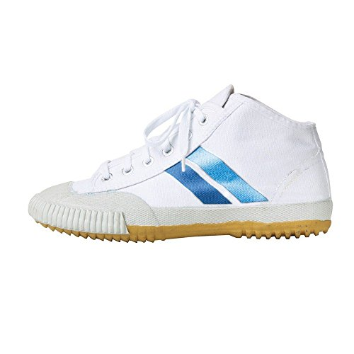 Fuji Mae - Zapatilla-Bota Wu Shu - Shaolin. Blanca