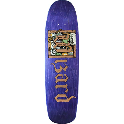 乞食アミューズメントハウジングBlood WizardスケートボードStorybook Lairスケートボードデッキ – 8.88 CM x 32.12