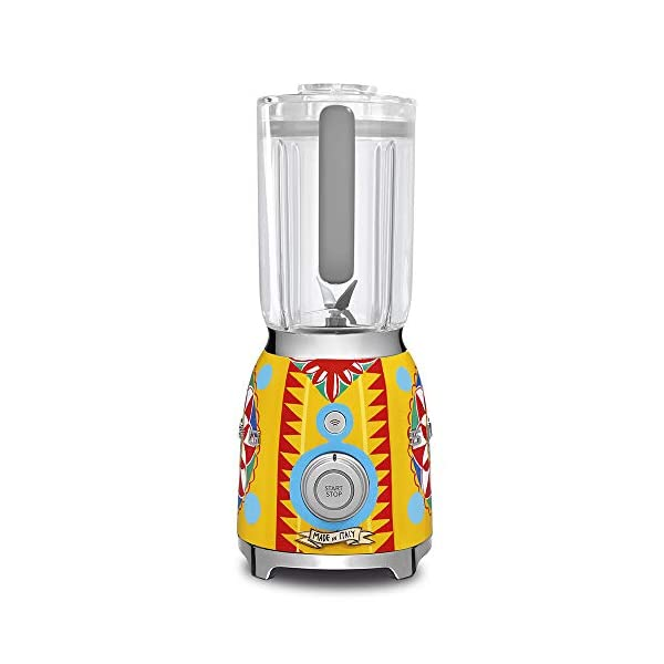 """Dolce and Gabbana x Smeg Countertop Blender BLF01DGUS,""""Sicily Is My Love,"""" Collection 3"""