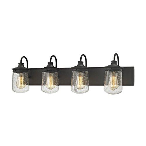 (Elk Lighting 81213/4 Vanity-Lighting-fixtures, 10 x 32 x 7, Bronze)