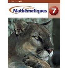 Mathematiques 7 Ontario Edition