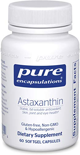 Pure Encapsulations - Astaxanthin - Stable, Fat-Soluble Antioxidant Supplement - 60 Softgel Capsules