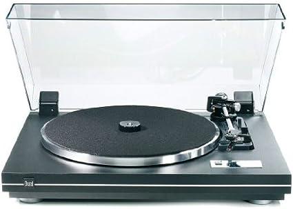 Dual CS 455-1 - Tocadiscos con amplificador, color negro y ...