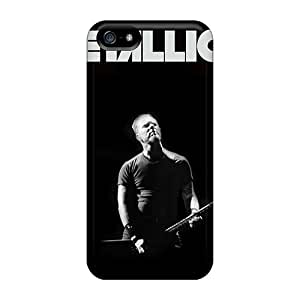 New Style ClaytonWilner Hard Cases Covers For Iphone 5/5s- Metallica