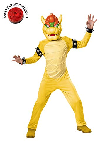 Bowser Kids Costumes - Super Mario Bowser Deluxe Child Costume
