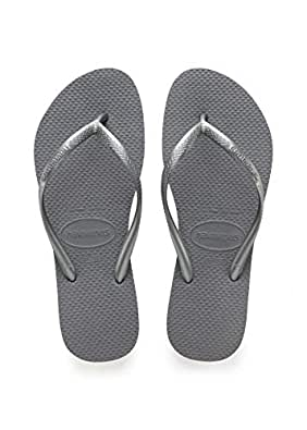 Havaianas Slim Womens Sandals Steel Grey