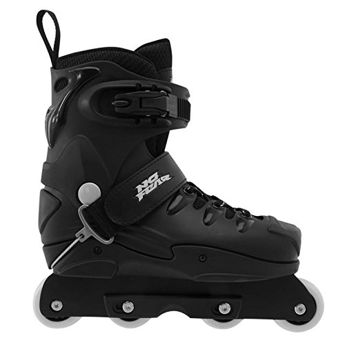 No Fear Mens Aggr Skate Roller Boots Skates Ice Skating Black 6 (39) s9TGjT