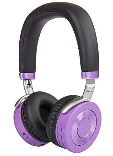Puro Sound Labs JuniorJams Over-Ear Headphones Wireless Foldable Kids Earphones with Bluetooth, Volume Limiting, Lightweight and Noise Isolation for iPhone/Android/PC/Tablet - JuniorJams Purple -