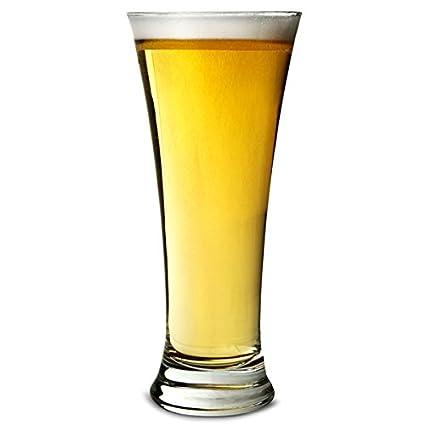 Arcoroc Martigues La cerveza del cubilete 330ml, sin la marca de llenado, 6 Vidrio