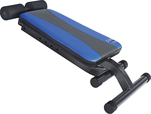 Pure Fitness Ab Crunch Sit Up Bench Barbell Academy