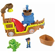 Fisher-Price Jake and the Never Land Pirates Splashin' Bucky Bath Toy