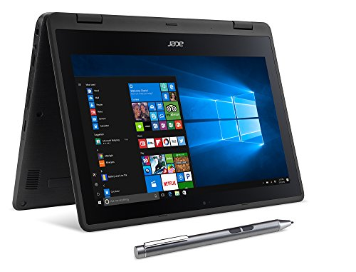 Acer SP111-31N-C4UG Spin 1, 11.6' Full HD Touch, 2 in 1 Laptop, Celeron N3350, 4GB DDR3L, 32GB...