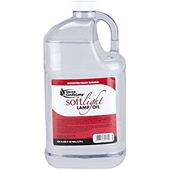 1 Gallon Smokeless Liquid Paraffin Lamp Oil