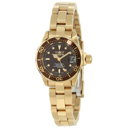 Womens Brown Ion Plated - Invicta Women's 12524