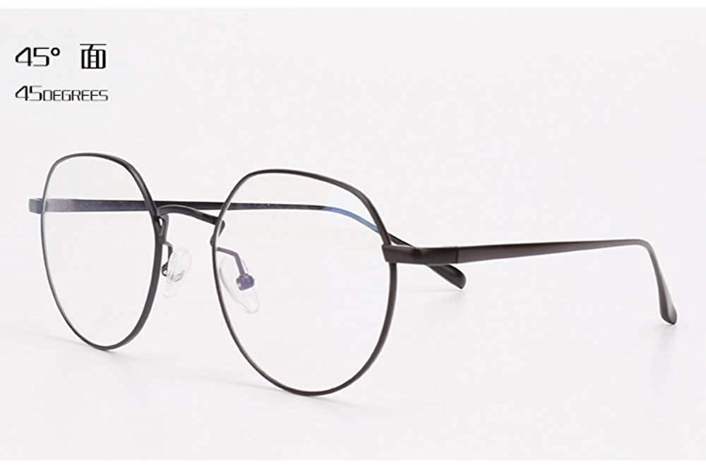 Ultra-light anti-mobile phone computer radiation blue glasses flat light no degree black