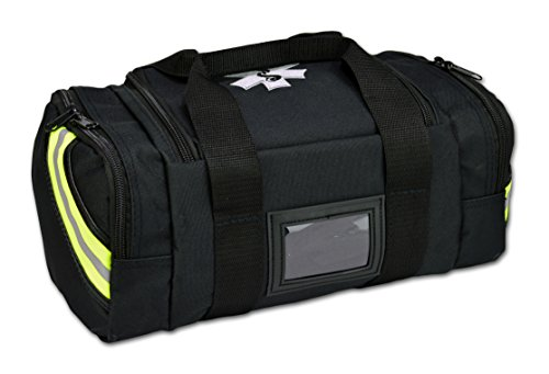 Trauma Kit Bag - Lightning X Value Compact Medic First Responder EMS/EMT Trauma Bag - Black