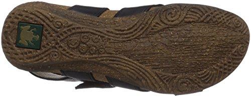 El Naturalista Femme N449 Wakataua Sandale Plate Noire