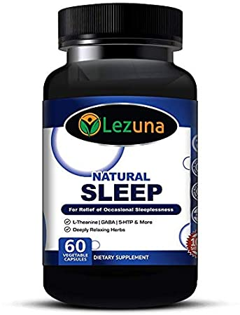 Amazon.com: Natural Sleep Aid Supplement for Adults with Melatonin ...