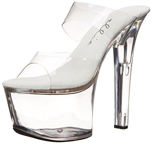 Sandal Women 711 Clear Coco Platform Ellie Clear Shoes BxUqgXgO