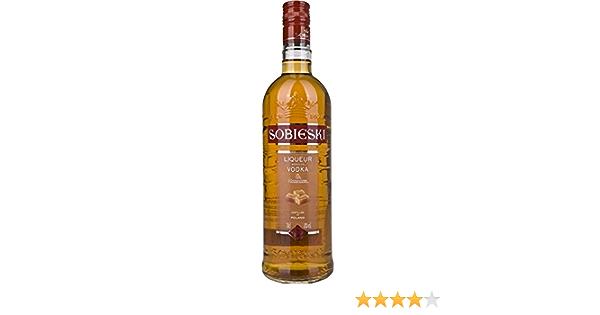Vodka sobieski caramelo 70cl 18º