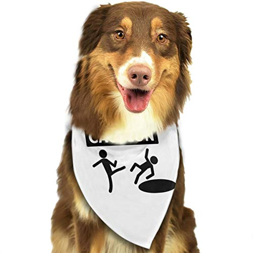 Pet Scarf Dog Bandana Bibs Triangle Head Scarfs Caution Accessories for Cats Baby Puppy]()