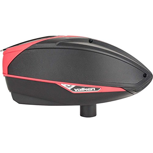 Valken Vsl Paintball Loader - black/Red Black by Valken
