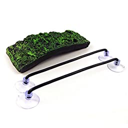 UEETEK Turtle Dock Basking Platform Floating Turtle Pier with Suction Cups