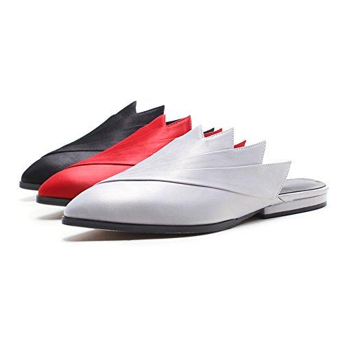 Planas Tela Mujer Sandalias red De Modelado De Transpirable Satinada Y Chanclas L1203 Moda Sandalias De Creativo Mejorar KJJDE WSXY Prima zgHxdEwqza