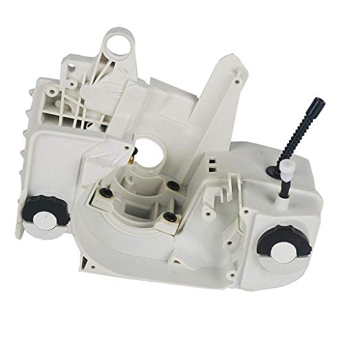 Flameer Oil Fuel Gas Tank Crankcase Crank Case Engine Housing for STIHL 021-025 210 MS230 MS250 Chainsaw Engine Parts, - Magneto Housing