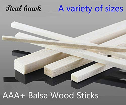 250mm long 1.5x1.5 2x2 2.5x2.5 3x3 4x4 5x5 6x6 6x6 6x6 7x7mm Square wooden bar AAA+ Balsa Wood Sticks Strips for airplane boat model DIY   250x7x7mm 50pcs 510a69