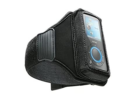 DLO Universal Sport-Ready Neoprene Case for MP3 Players (Action Jacket) with Adjustable Rubberized Armband, Black, - Dlo Action Jacket Soft Case