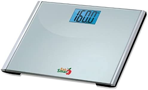 EatSmart Precision Plus Digital Bathroom Scale with Ultra-Wide Platform, 440 Pound Capacity