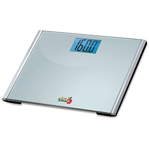 EatSmart Precision Plus Digital Bathroom Scale with Ultra-Wide Platform, 440 Pound Capacity by EatSmart (Image #2)
