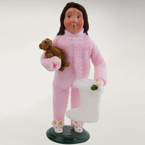 The Carolers Byers Choice 'Night Before Christmas' Figurine (Girl With Stocking)