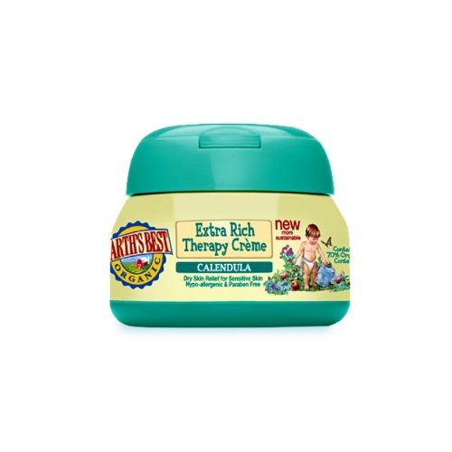 (JASON Natural Cosmetics Earth's Best Baby Care Calendula Extra Rich Therapy creme, 4 Ounces)