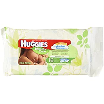 Amazon Com Huggies Natural Care Unscented Baby Wipes 16ct