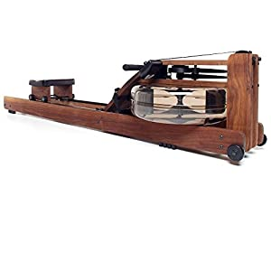 WaterRower Classic Rowing Machine in Black Walnut with S4 Monitor