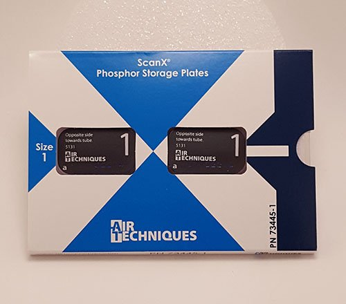 AIR TECHNIQUES ScanX Intraoral Phosphor Plates Size 1, 2/pk #73445-1